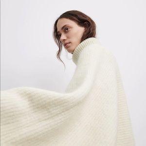 Zara alpaca blend knit sweater